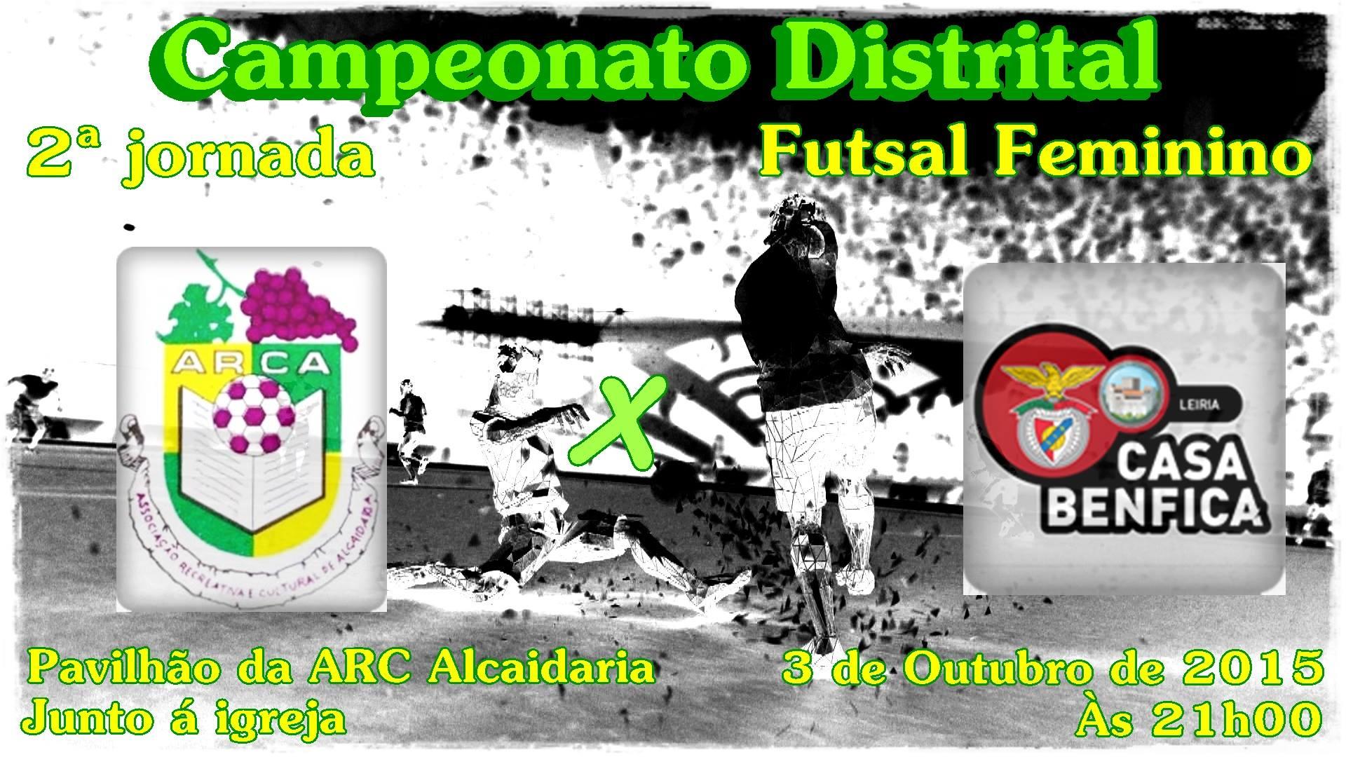 Futsal - Primeiro jogo em casa da temporada 2015/2016