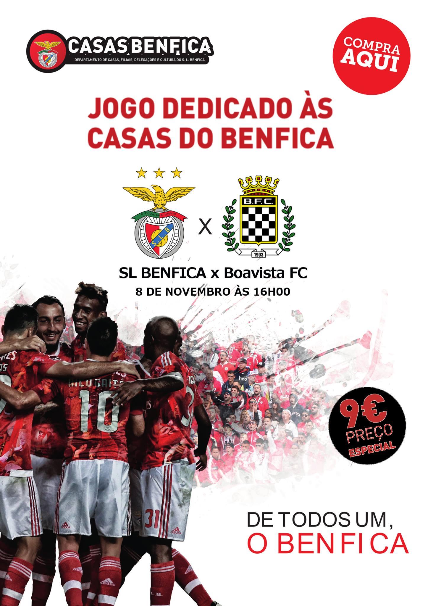 Excursão Benfica x Boavista
