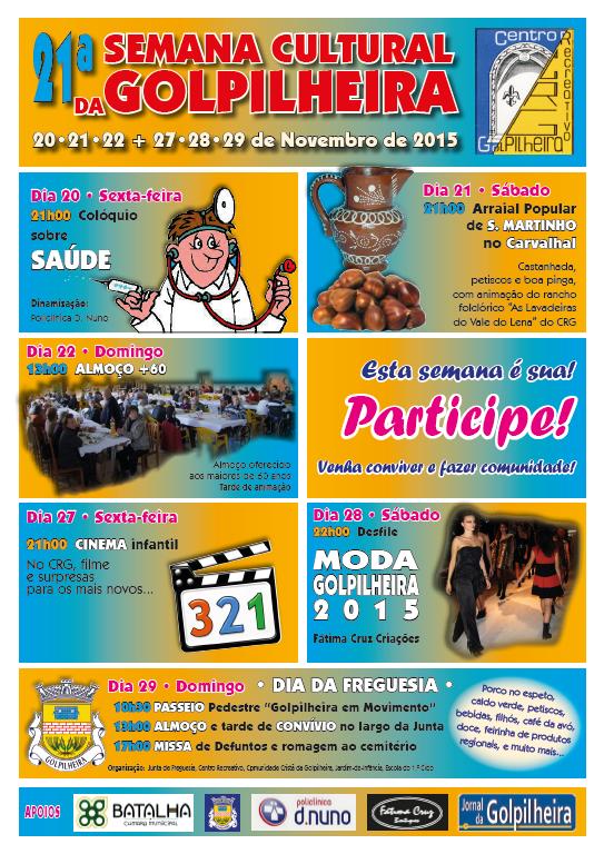 21ª Semana Cultural CRG