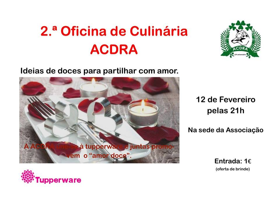 2ªOficina de Culinária da ACDRA