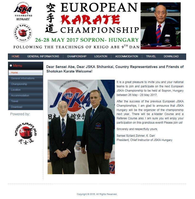 Campeonato Europeu JSKA