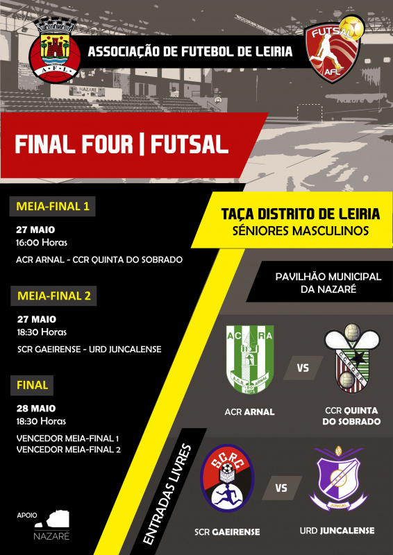 Final Four - Taça distrital Futsal