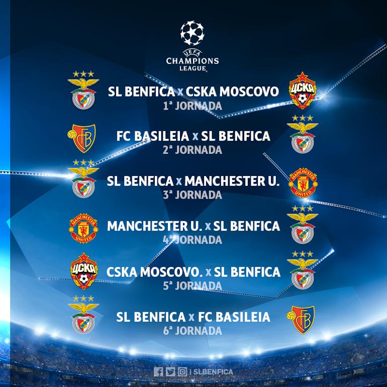 Excursão / Transmissão SL Benfica x Manchester United