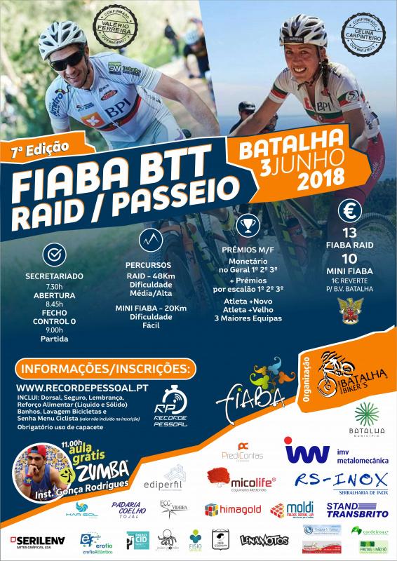 FIABA BTT 2018 RAID/PASSEIO
