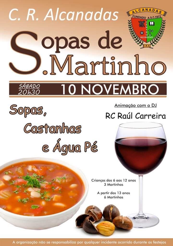 Sopas S. Martinho Alcanadas