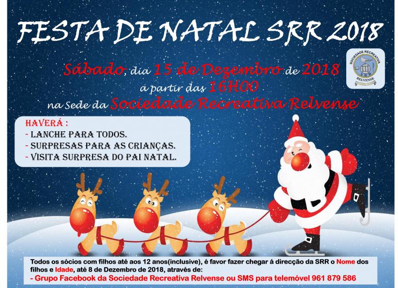 Festa de Natal SRR 2018