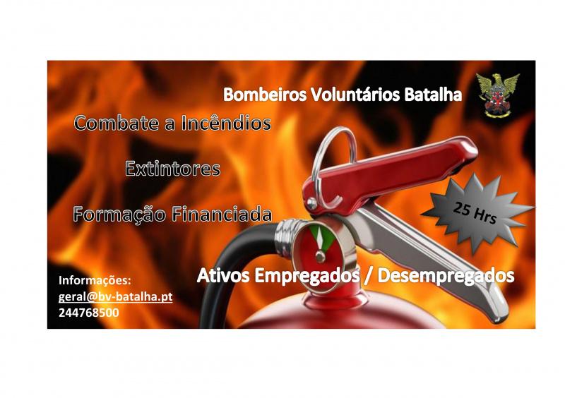 Formação Combate Incêndios - Extintores