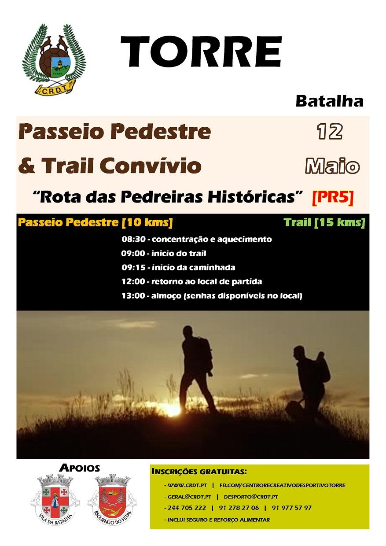 Passeio Pedestre & Trail - Rota das Pedreiras Históricas