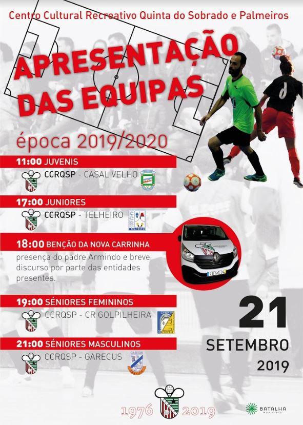Apresentação Equipas  Futsal  2019/2020