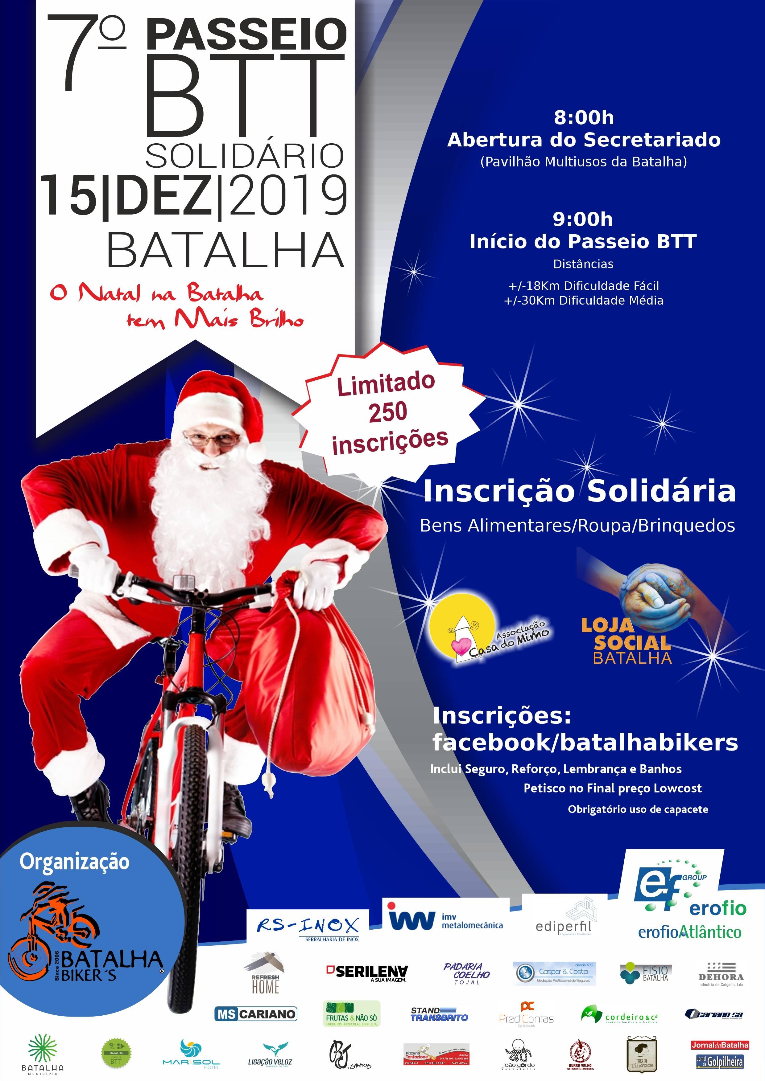 7º Passeio Btt Solidário